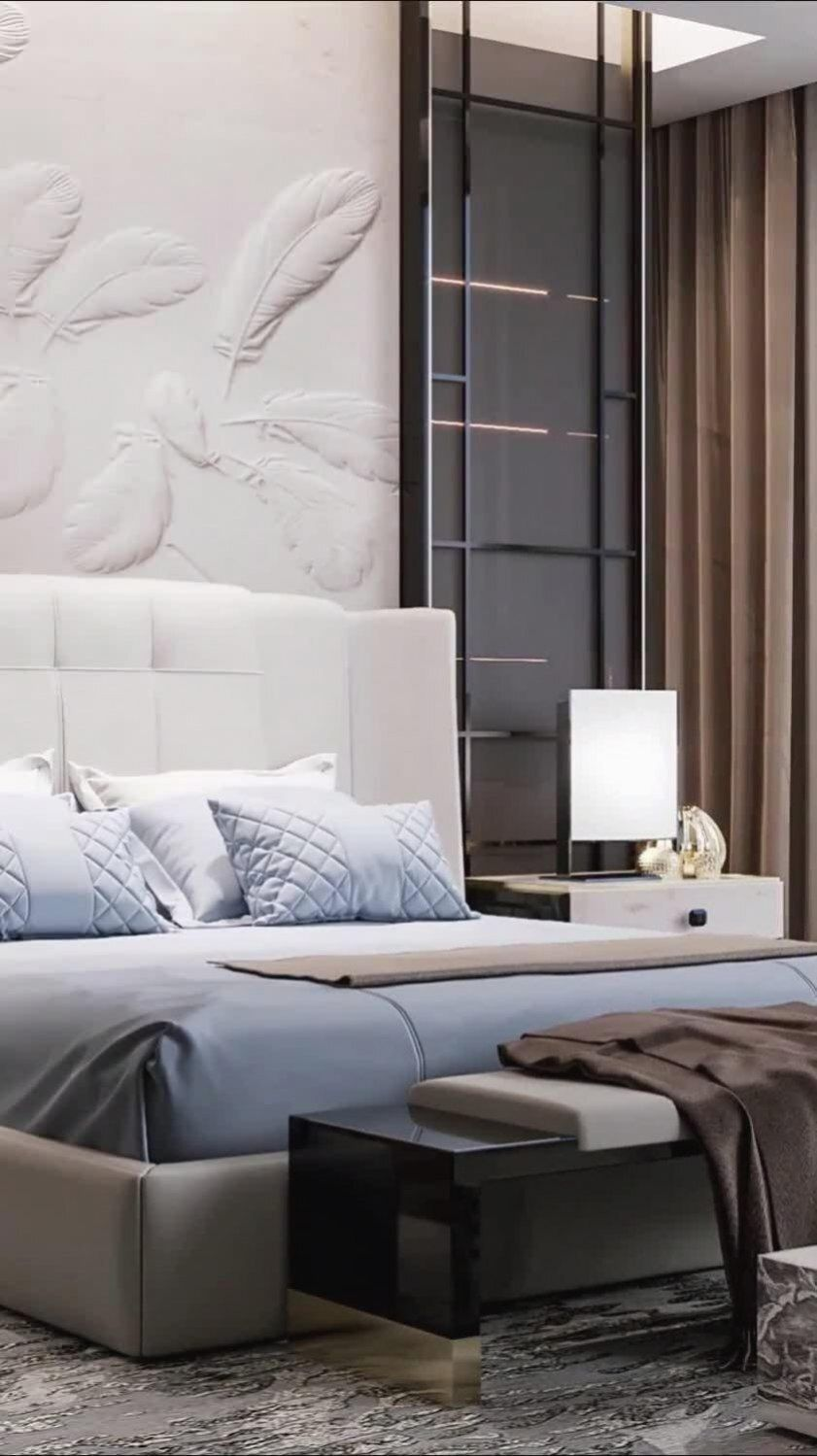 Interior video for big bedroom for a family. Find more unique