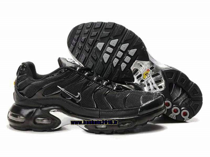 Nike Officiel Nike Air Max Tn Requin Tuned 1 Chaussures Pas Cher Pour Homme Tout  Noir