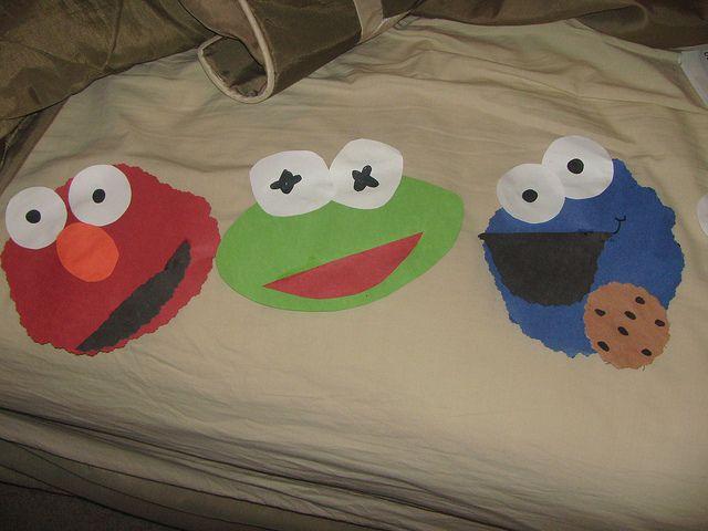 Elmo Crafts Pinterest