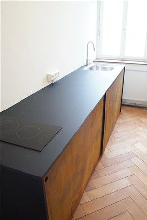 Teeküche – Benjamin Bächlin Möbeldesign #minimalkitchen
