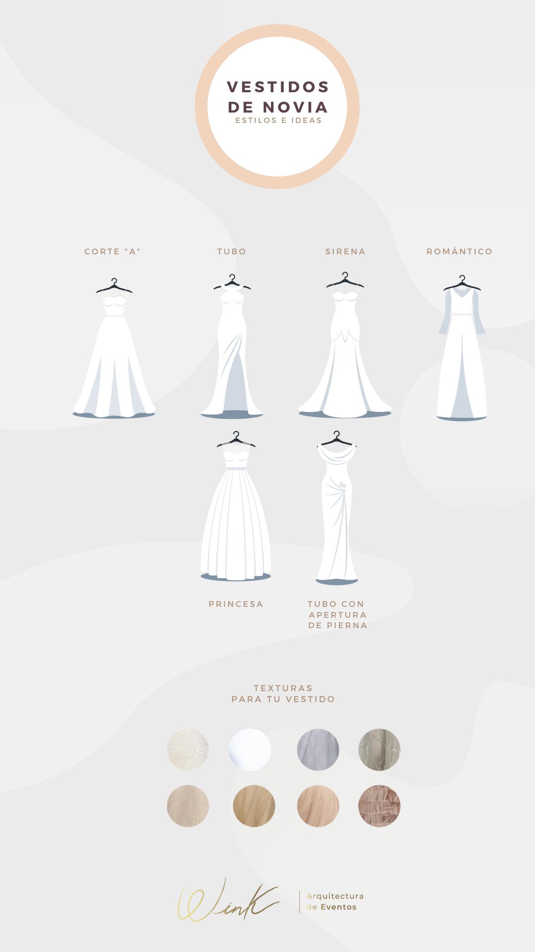 Estilos De Vestido De Novia Estilos De Vestidos De Novia Vestidos De Novia Vestir Con Estilo