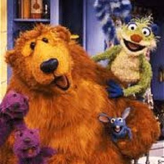 Bear In The Big Blue House Plush Tutter And Treeloe Were My