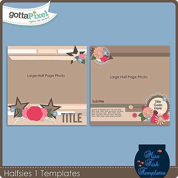 Halfsies 1 Templates Miss Fish Templates Pinterest Fish