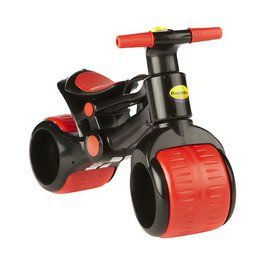 0fa8241e9f5 This is the PlaSmart Plasmabike - it's a balance bike for toddlers with  extra wide wheels. Love it.