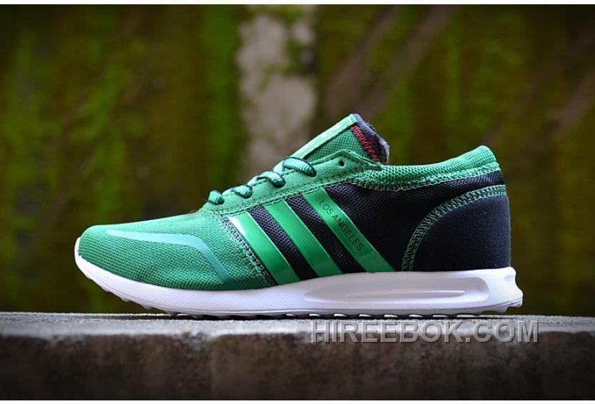 / / adidas scarpe da corsa uomini verde nero
