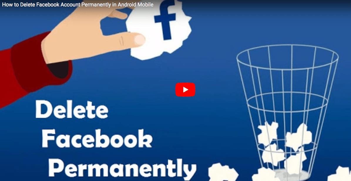 Delete Facebook Account Permanently Delete facebook