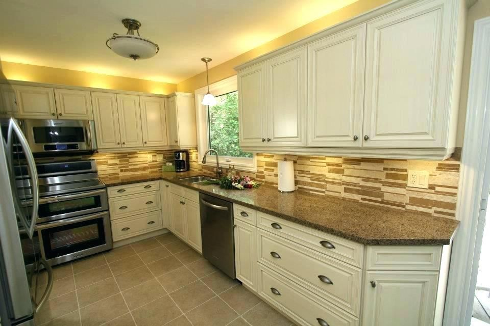 Image Result For Kitchen With Black Appliances And Cream Cabinets