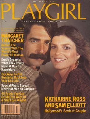 Playgirl Magazine Oct 1979 Katharine Ross Sam Elliott Sam Elliott Sam Elliott Pictures Katherine Ross