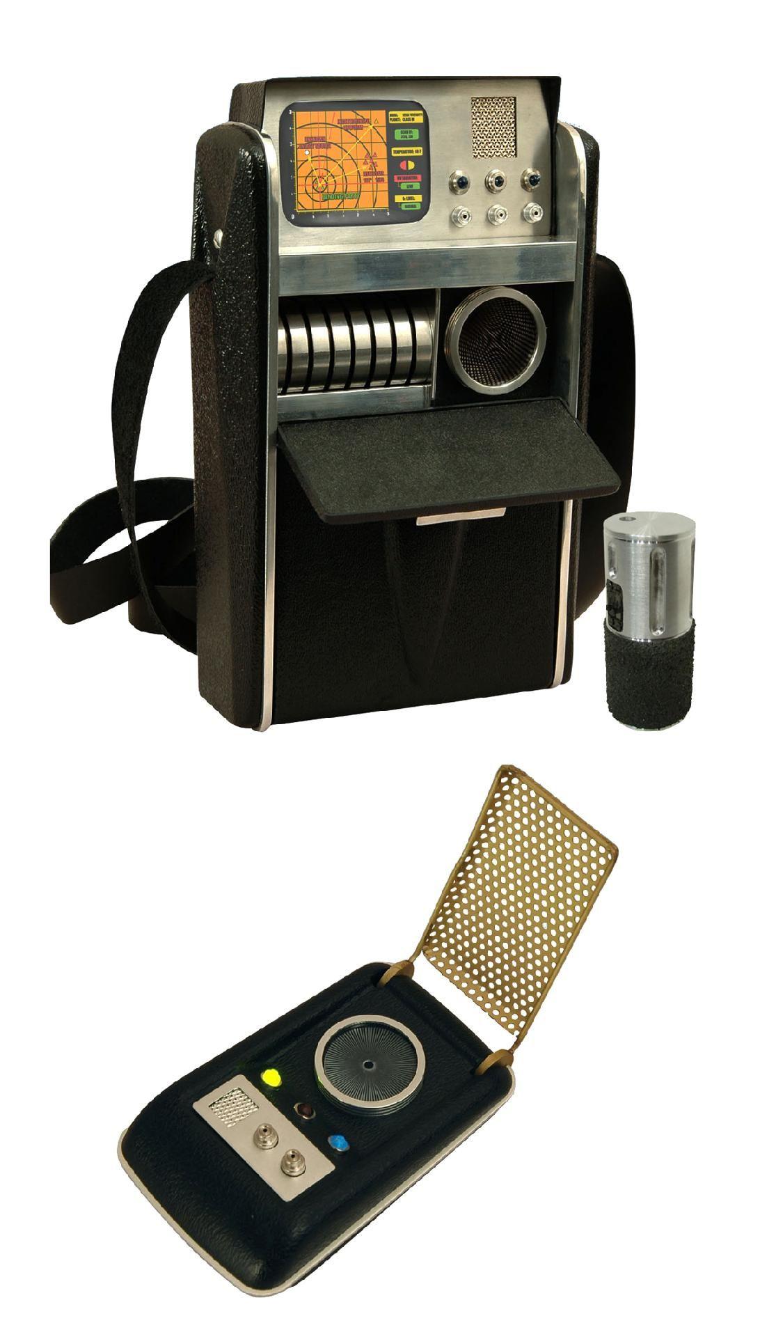 Okay, so it's not a ray gun. Tricorder & Communicator - Star Trek TOS