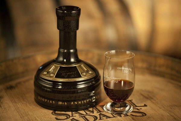 Utopias by Samuel Adams, America's most expensive beer and contains 27% alcohol.  $150.00 per bottle.