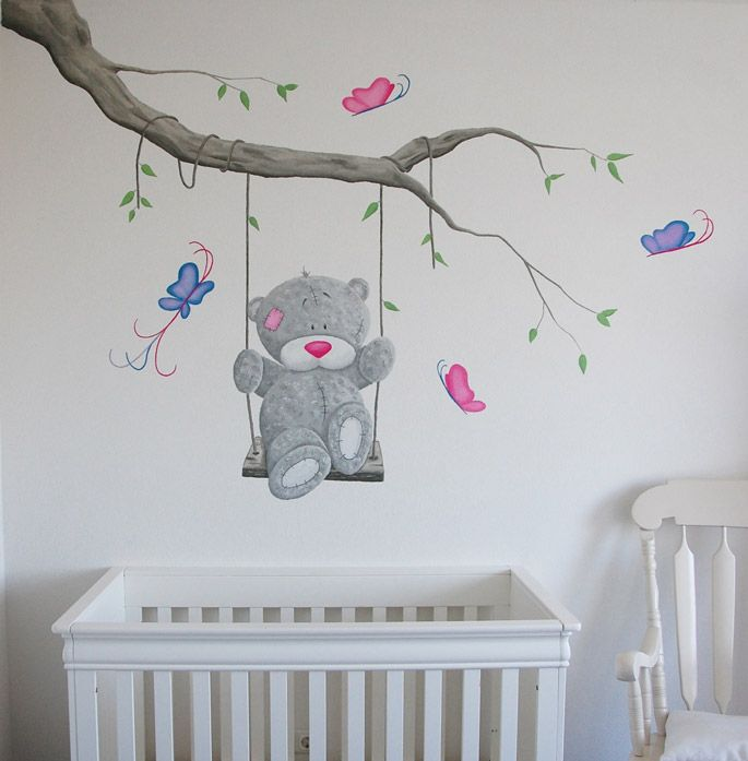 Me to you tak para mi gordo pinterest kinderzimmer - Schablone wandmalerei ...