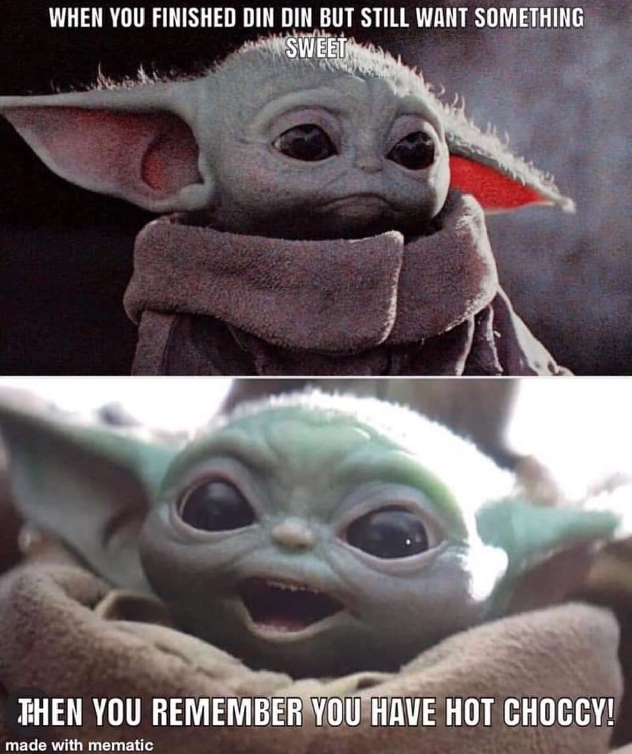 Funny star wars memes by Camrie Shelburne on Baby Yoda/The