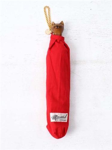 ねこ折りたたみ傘無地 MUVEIL ミュベール 公式オンラインショップ FEEL THE GARDEN