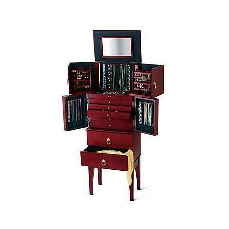 RossSimons Safekeeper Jewelry Armoire Jewelry Boxes Pinterest