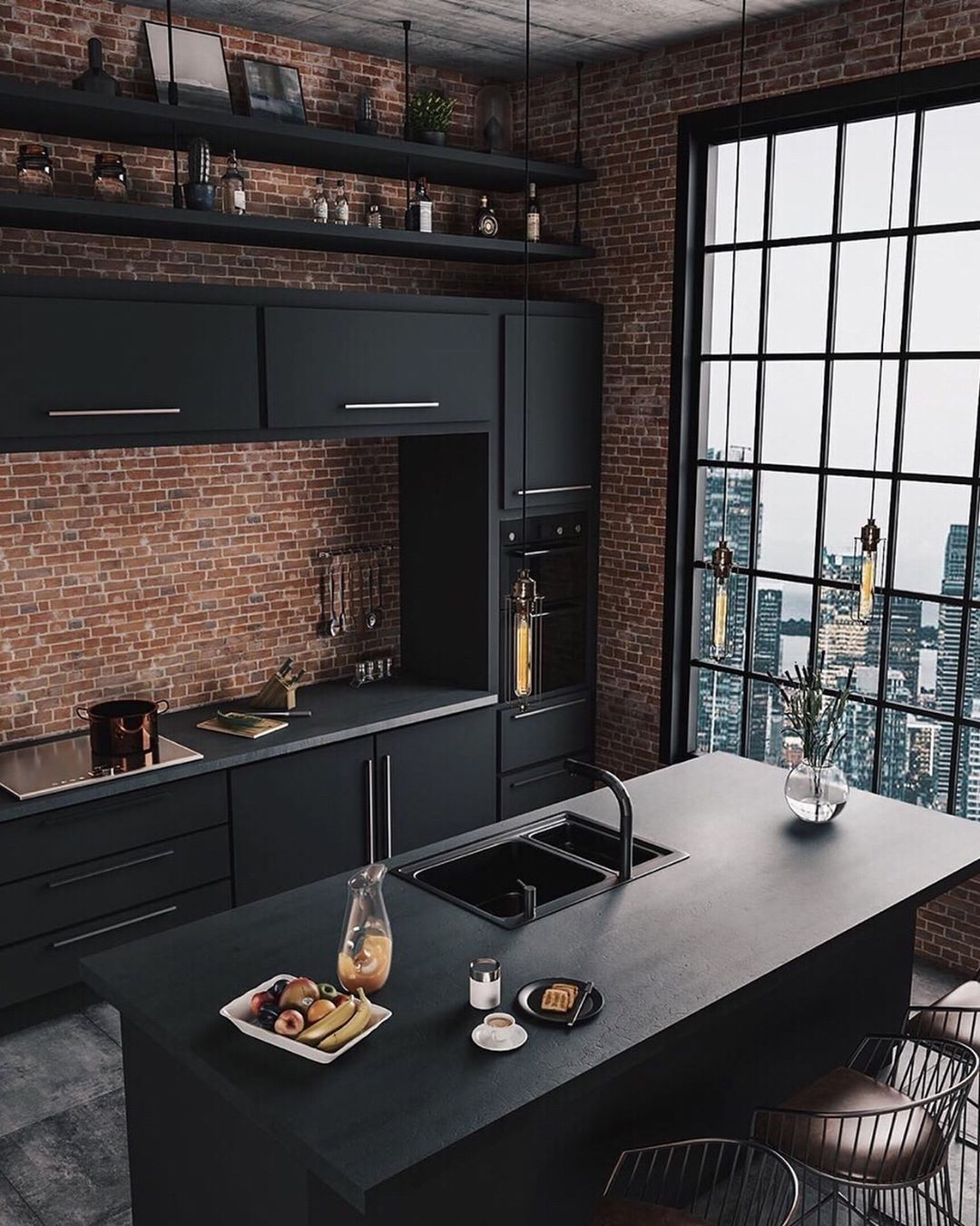 Dcorstore On Instagram Industrial Style Kitchen Industrial