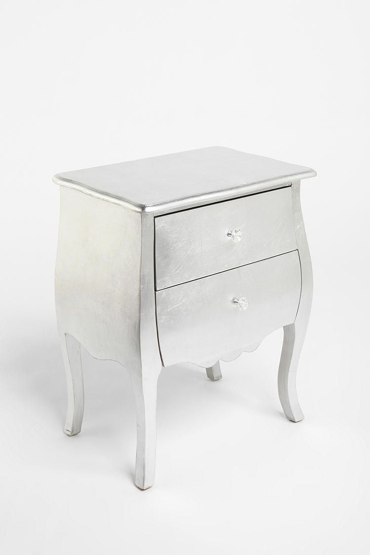 Silver Leaf Side Table Wish It Came In Black