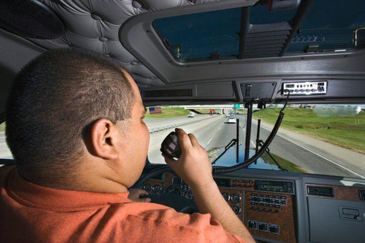 Cómo bajar de peso para los conductores de camiones. La