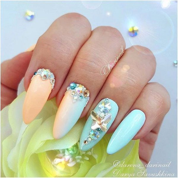 55 Summer Holiday Nail Art Ideas Vacation Nails Summer Holiday
