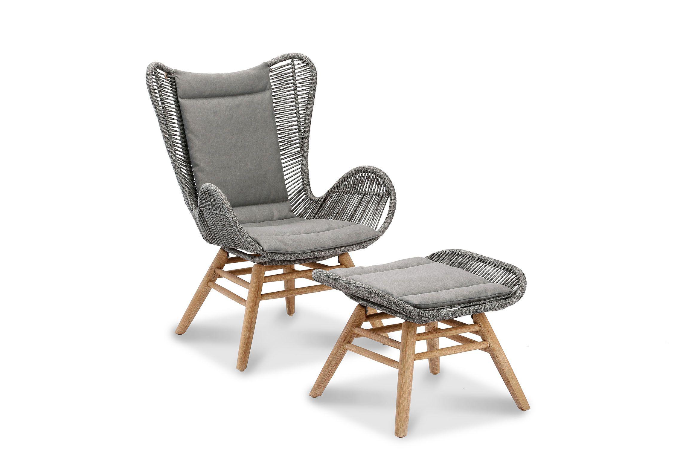 Relax Sessel Fur Den Garten Relaxsessel Mit Hocker Sessel Relaxsessel