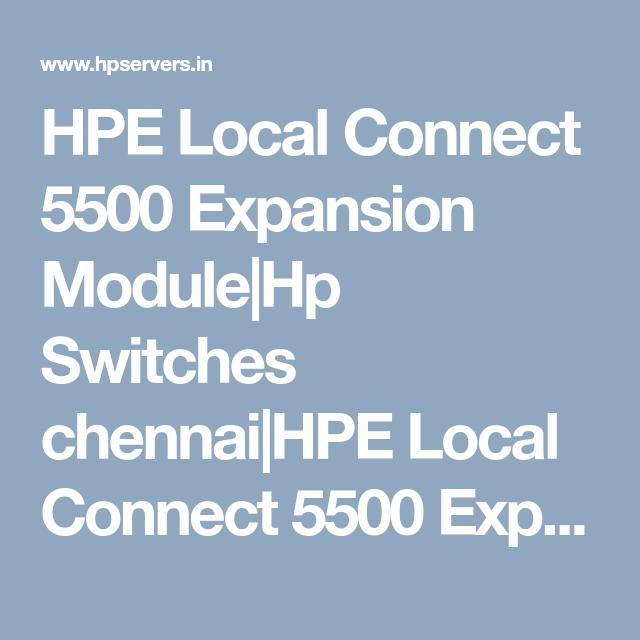expansion module HP Local Connect Module