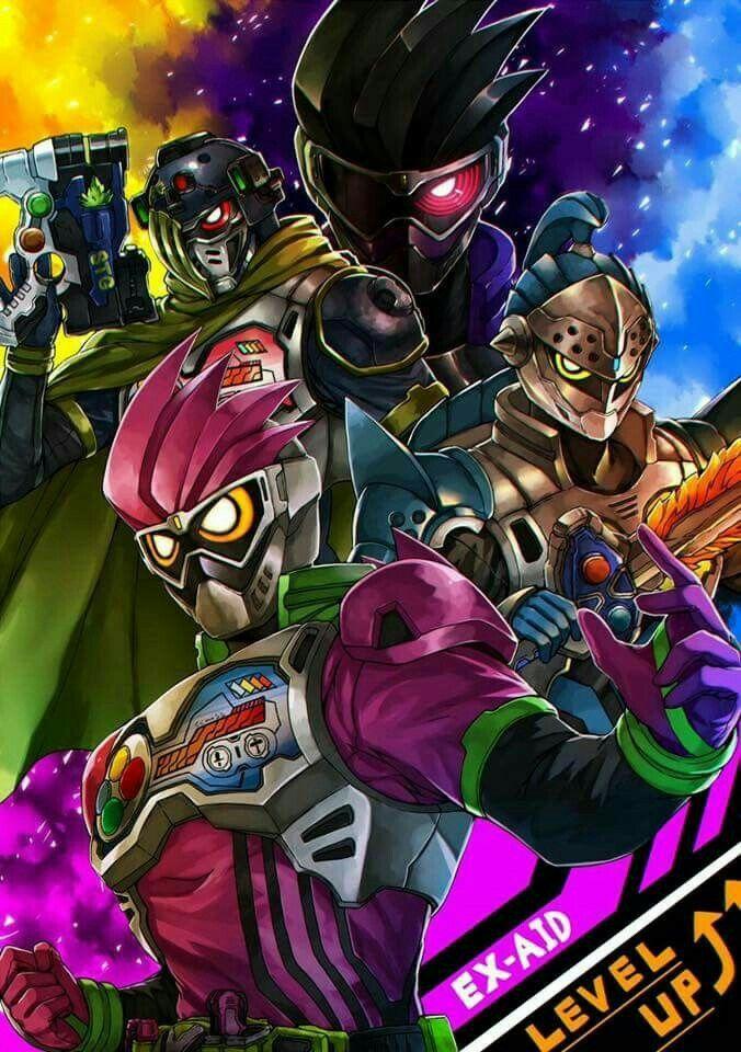 Pin oleh Quintan T Freeman di Kamen Rider Vs Super Sentai