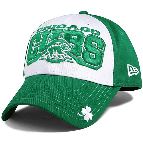 79905d44244 Chicago Cubs St. Patrick s Day Team Showcase Adjustable Cap by New Era