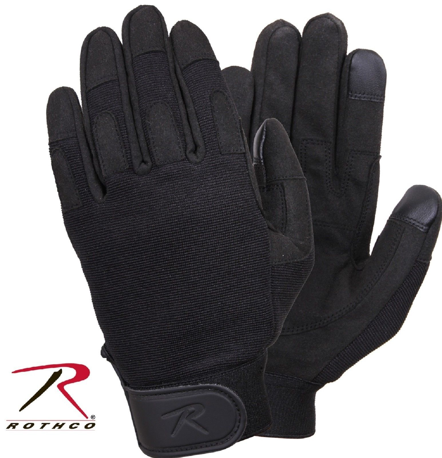 Rothco Touch Screen All Purpose Duty Gloves - Black Lightweight Tactical  Glove e873bf5254a