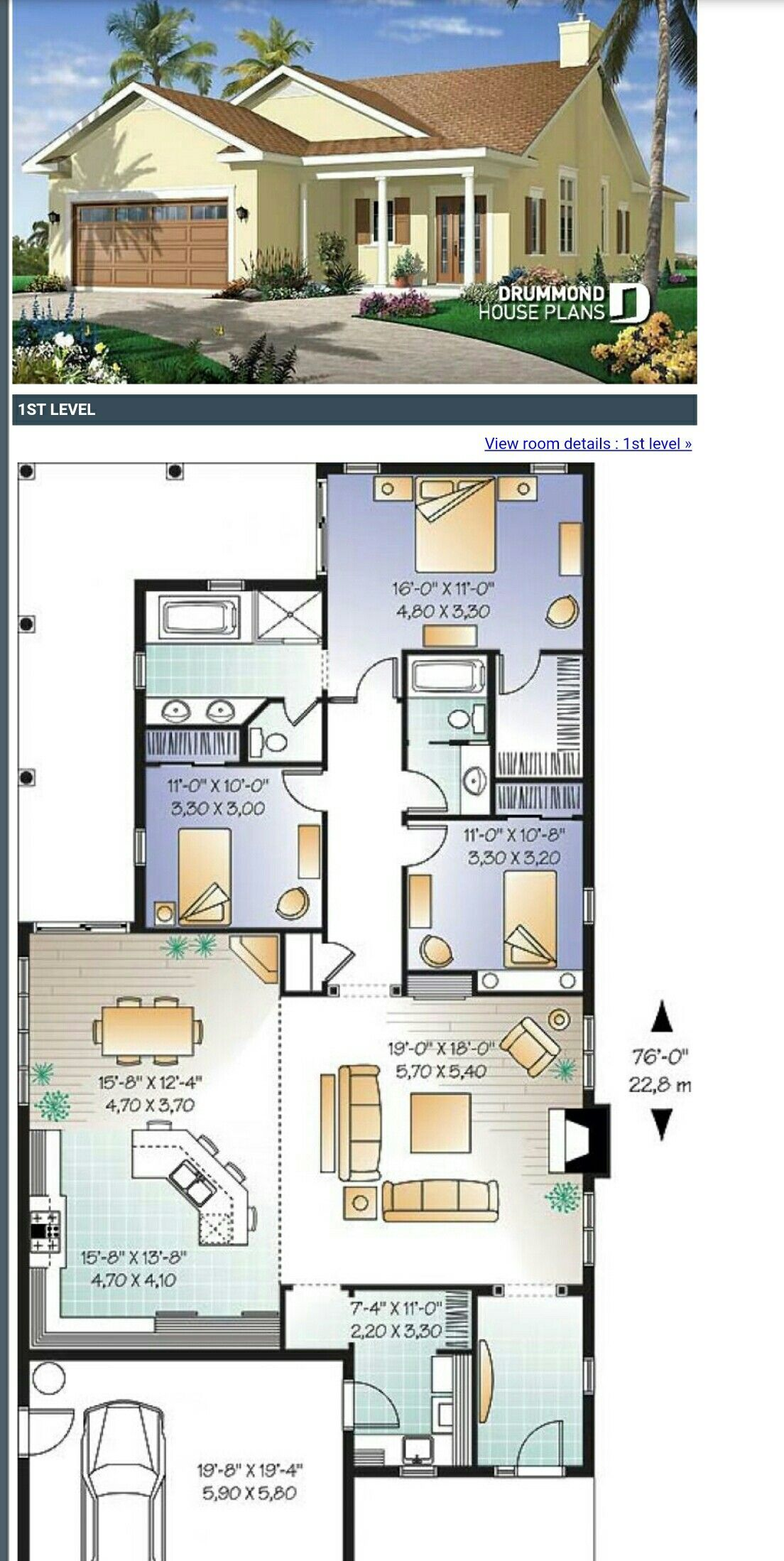Type 1b With Images Dream House Plans House Blueprints House