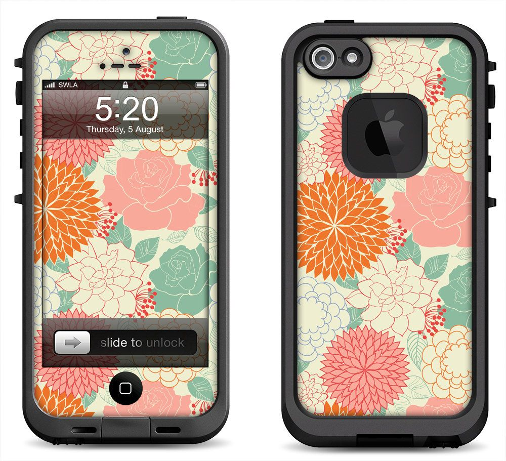 Lifeproof iphone 5 5s 5c fre nuud case decal skin by
