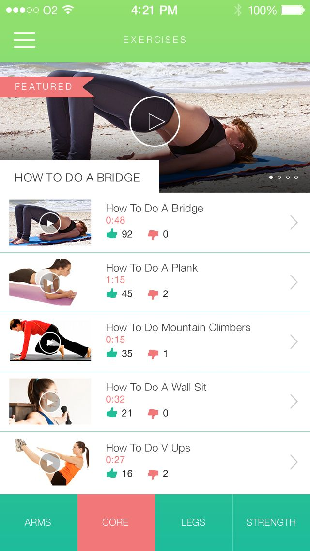 30 day fitness challenge app Healthy Living Food  Fitness 30