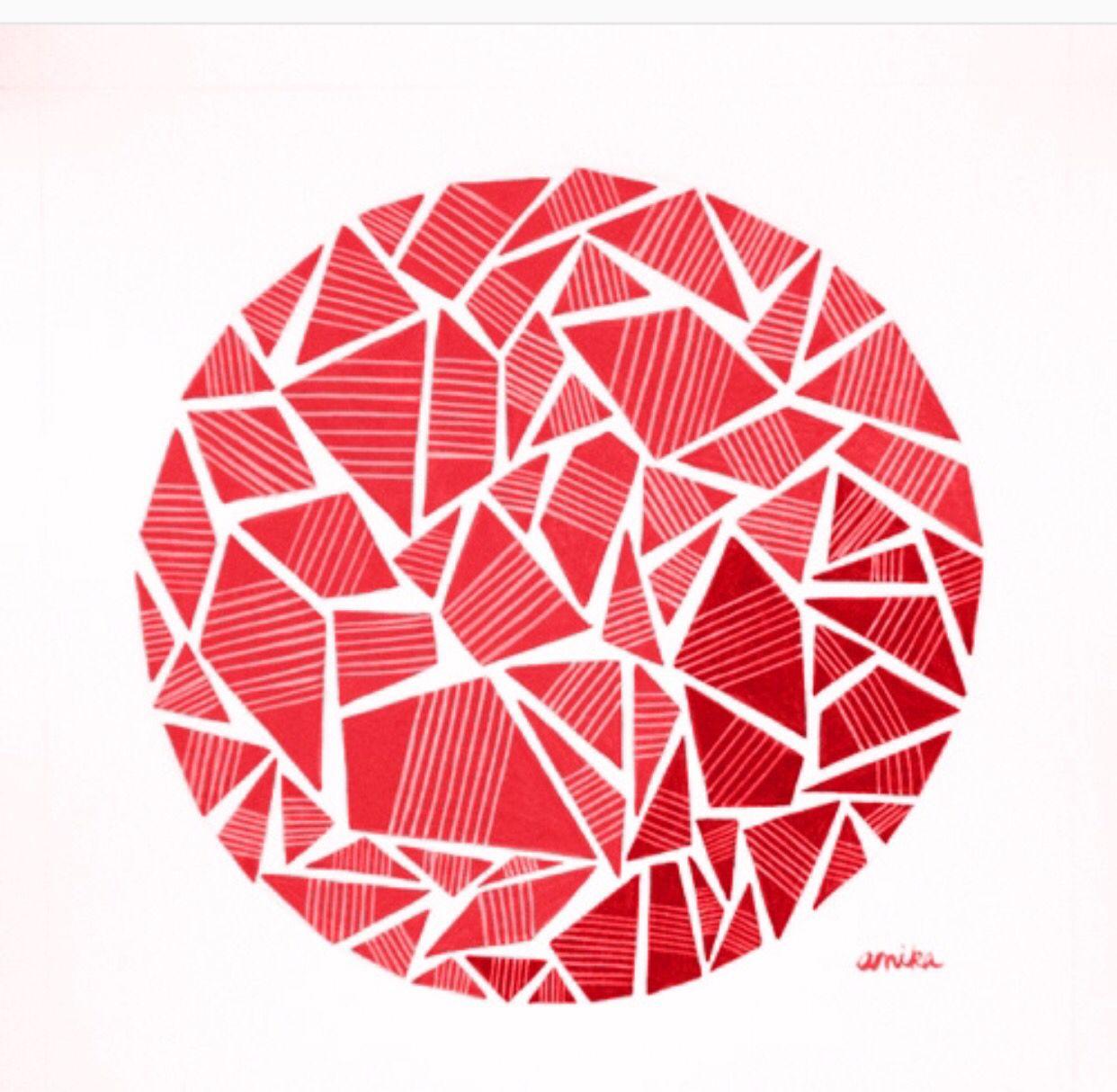 اشكال هندسيه Graphic Design Images Pattern Art Art Drawings Sketches Simple