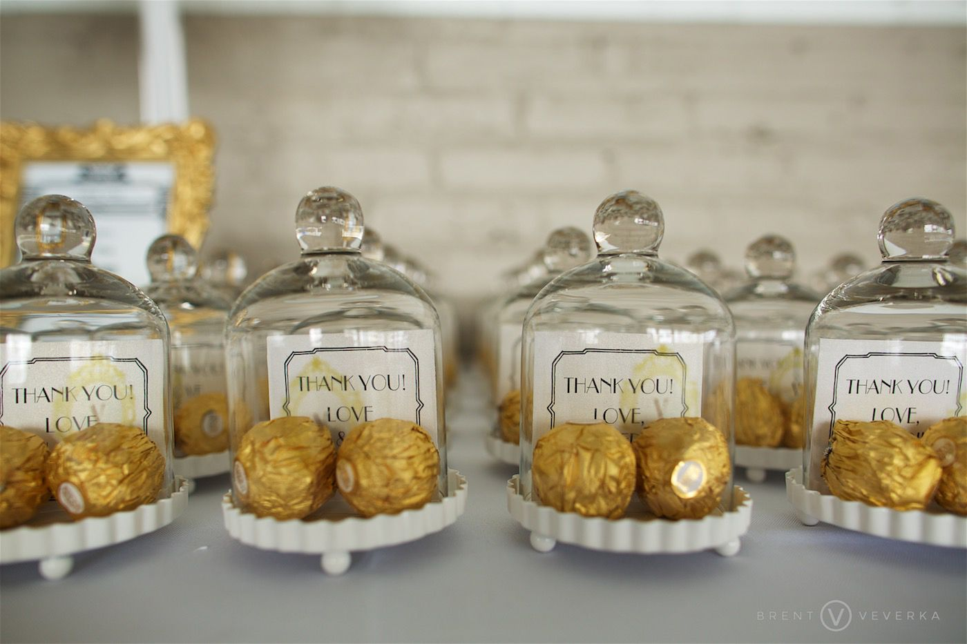 Miniature Glass Bell Jar (Set Of 4) (Personalization