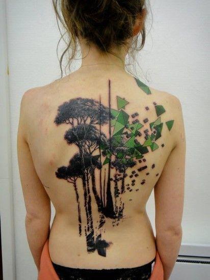 Photo of Wir sind alle Moleküle Tattoo Molekül Tattoo