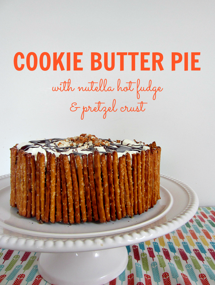 Easy Cookie Butter Pie