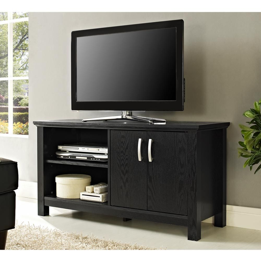 Castillo black entertainment center black entertainment centers