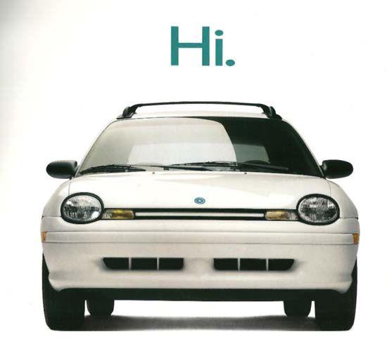 Dodge Neon Ad 90s Hi - Google Search