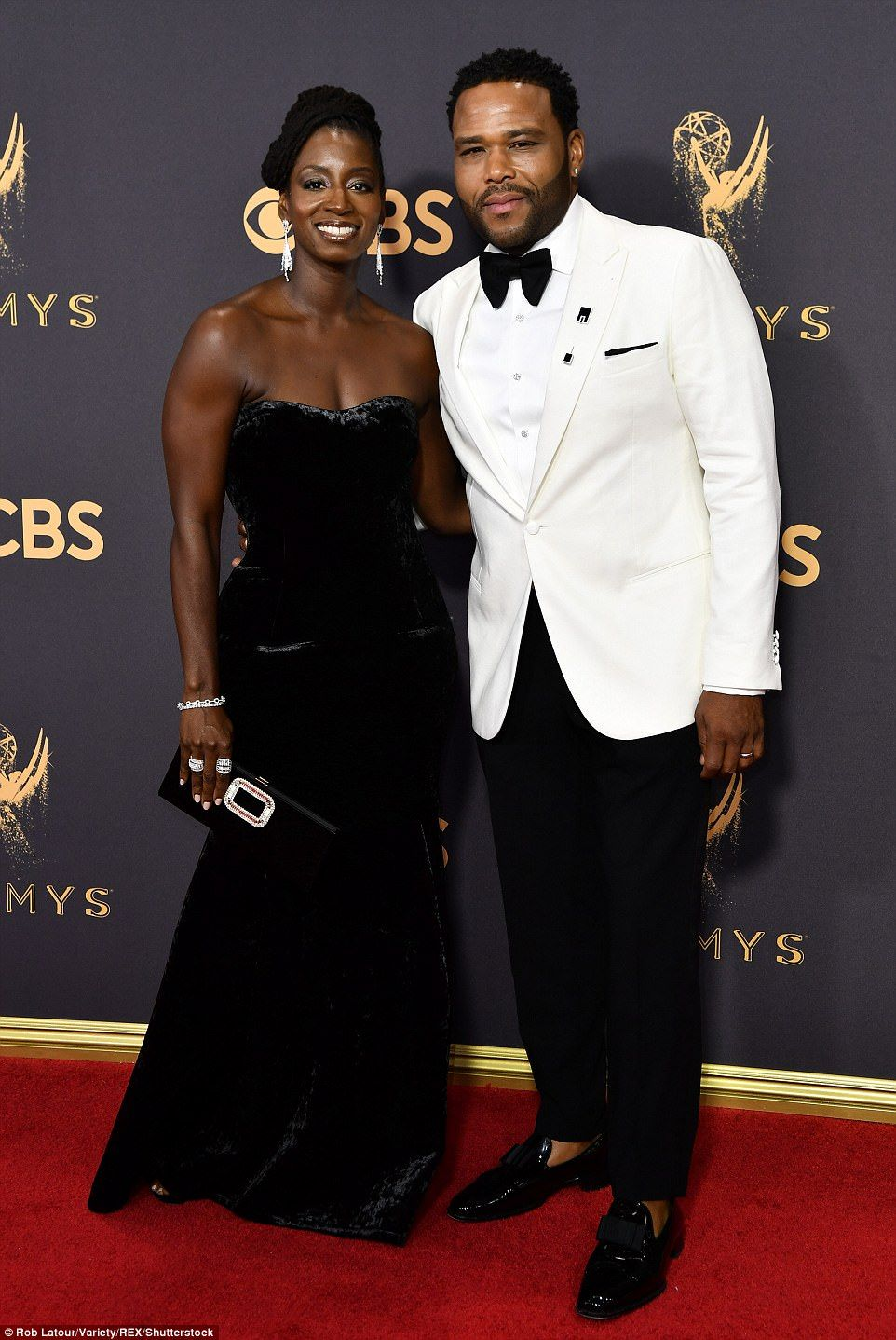 Queens Of The Small Screen Rule The Red Carpet At The 69th Emmy S Black Celebrity Couples Black Celebrities Cute Couples