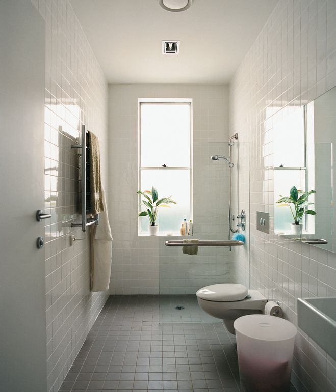 I like having no threshhold between shower and bath... very clean visual line.