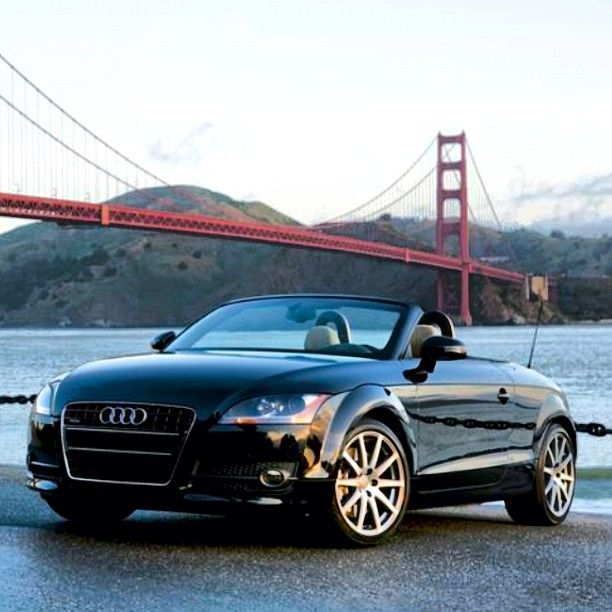 The Audi TT Roadster At The Golden Gate Bridge Its Officially - Used audi tt convertible
