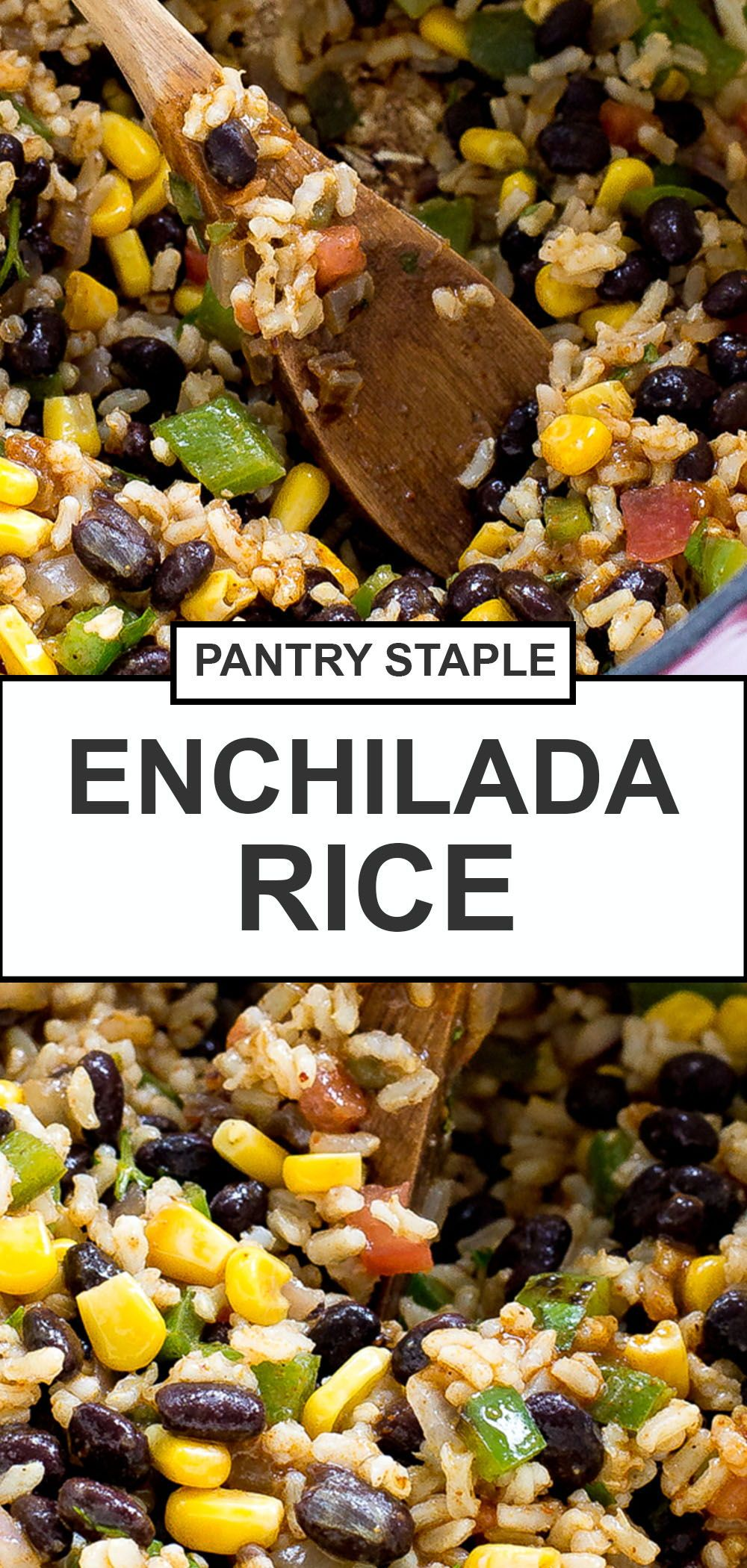 Enchilada Rice (with Homemade Enchilada Sauce!) - Chef Savvy