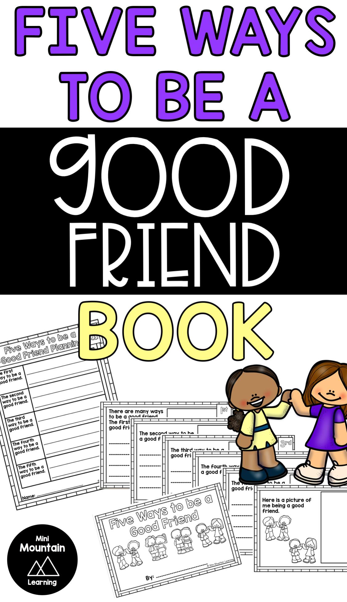 Being A Good Friend Book