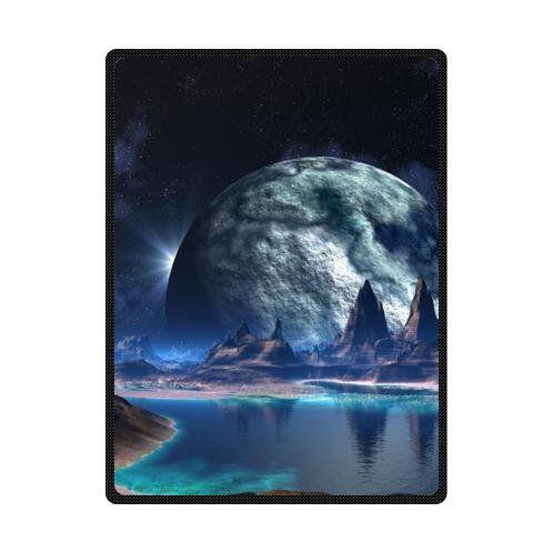 Best+Seller,Fantasy+Cool+Earth+Custom+Fleece+Blanket+58+x+80+(Large)