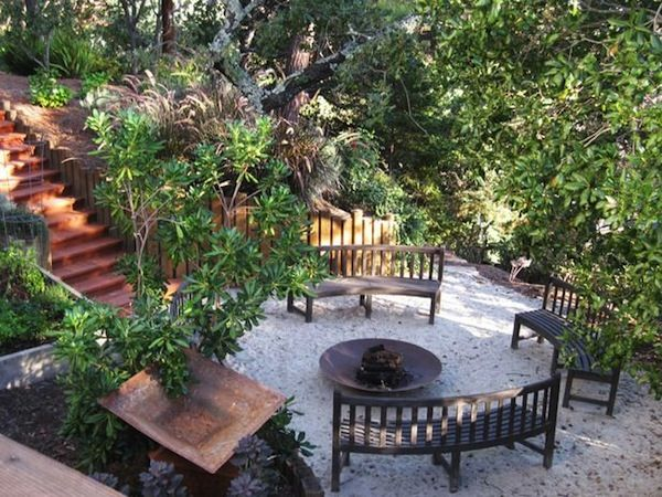 Unique Seating Ideas for Around the Fire Pit | Fire pit seating ...