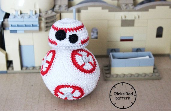 Star Wars CROCHET PATTERN - Droid Bb8 amigurumi pattern | Stricken ...