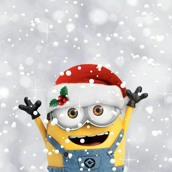 Santa Bob Minions Minion Christmas Merry Christmas Minions Minions Wallpaper