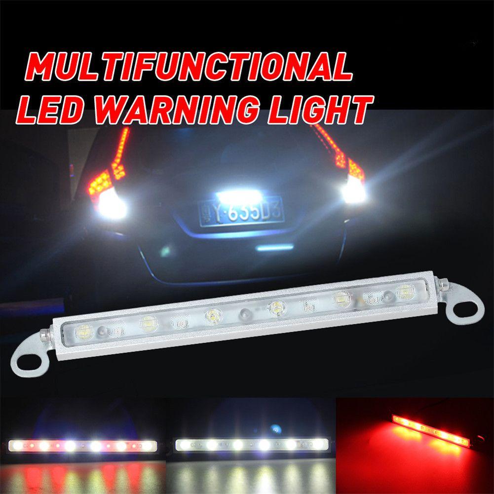 Features Item Car Reversing Brake Light Key Words License Plate Light Astern Lamp Brake Lamp Decoration Lamp Current Led Warning Lights Niva License Plate