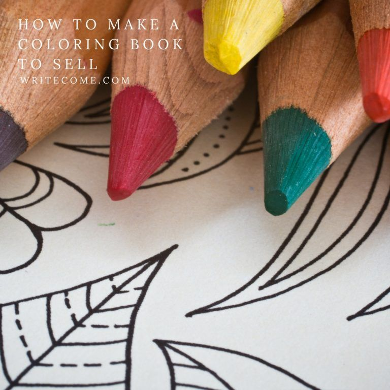 How To Make A Coloring Book You Can Sell Coloring Books Kids Coloring Things To Sell