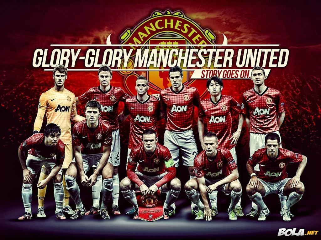 Manchester United Squad Team Wallpaper HD ccc