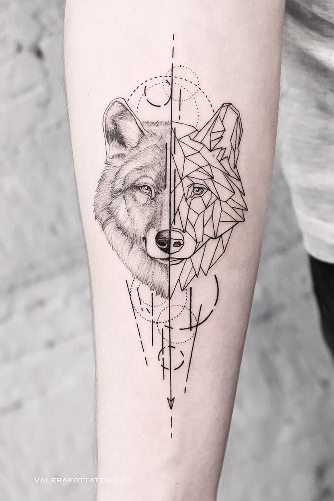Tattoos Zhivotnye Stil Grafika I Geometriya Bolshe Tatu I Eskizov V Moem Instagram Zahodi Geometric Tattoo Geometric Wolf Tattoo Tattoos For Guys