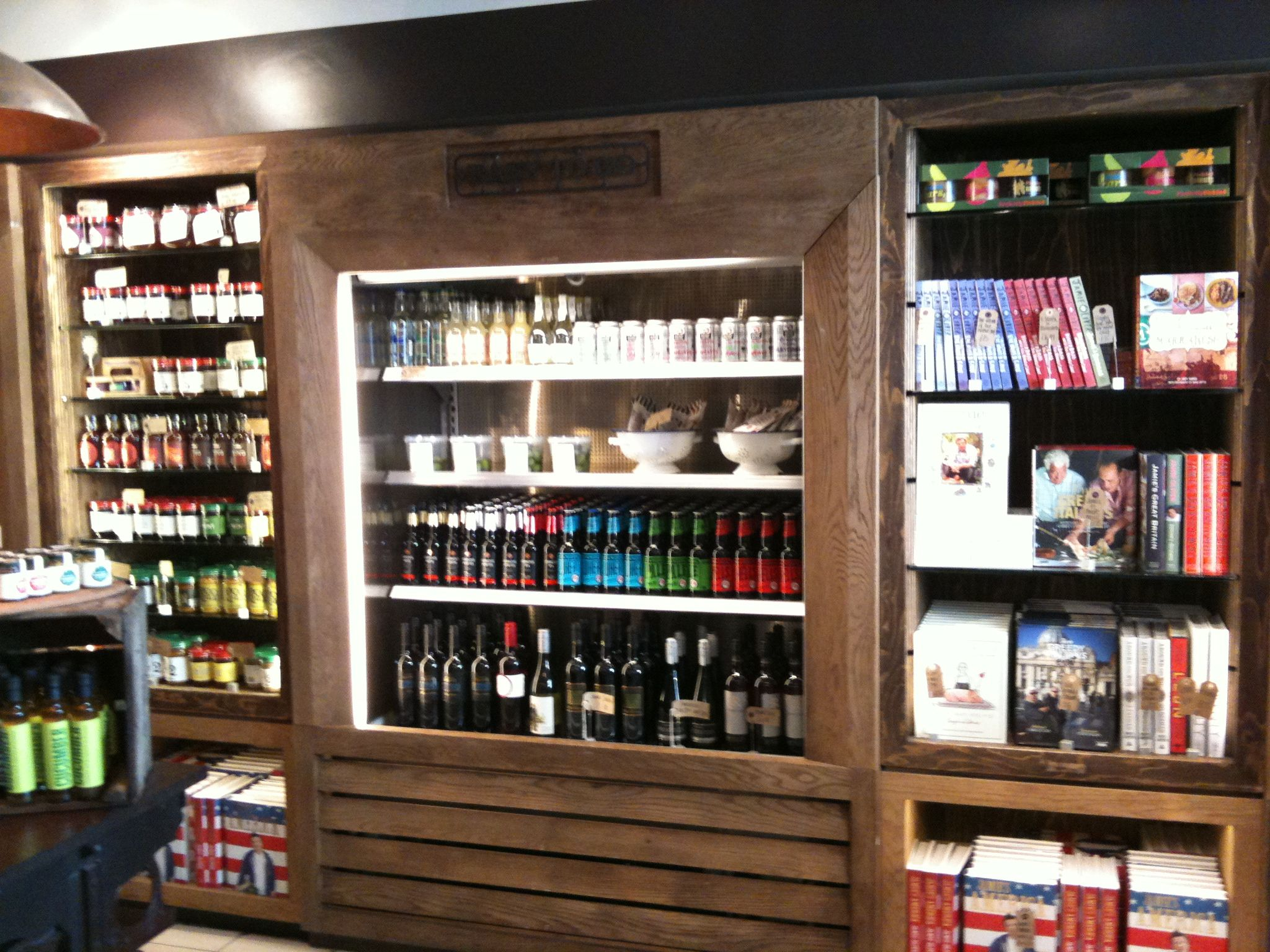 Jamie Oliver Store Brighton Grab And Go Area Liquor